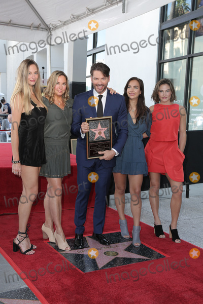 Harry Connick Jr Photo - LOS ANGELES - OCT 24  Georgia Connick Jill Goodacre Harry Connick Jr Charlotte Connick Sarah Connick at the Harry Connick Jr Star Ceremony on the Hollywood Walk of Fame on October 24 2019 in Los Angeles CA