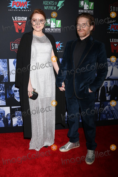 Clare Grant Photo - LOS ANGELES - JAN 30  Clare Grant Seth Green at the Excelsior A Celebration of Stan Lee at the TCL Chinese Theater IMAX on January 30 2019 in Los Angeles CA