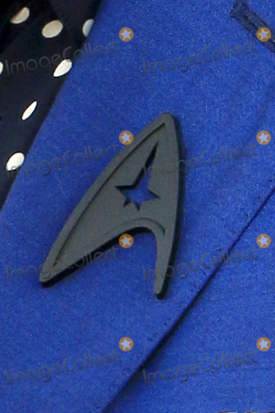 Anton Yelchin Photo - LOS ANGELES - JUL 20  Zachary Quintos Black Starfleet delta badge worn in tribute to Anton Yelchin at the Star Trek Beyond World Premiere at the Embarcadero Marina on July 20 2016 in San Diego CA