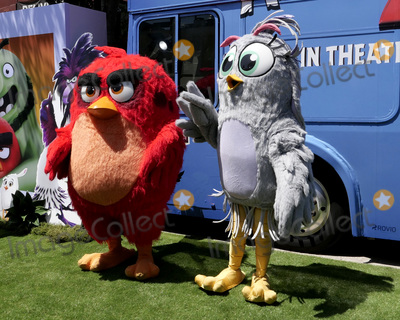 Angry Bird Photo - LOS ANGELES - AUG 10  Angry Bird Characters at the The Angry Birds Movie 2 at the Village Theater on August 10 2019 in Westwood CA