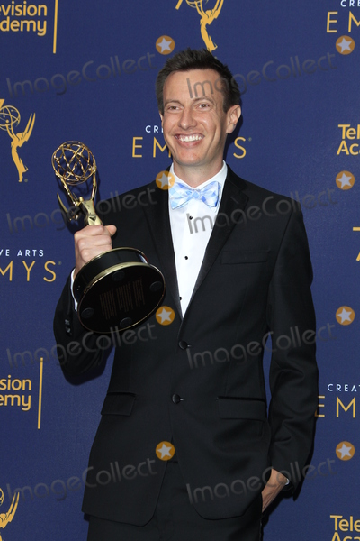 Andrew Waruszewski Photo - LOS ANGELES - SEP 9  Andrew Waruszewski at the 2018 Creative Arts Emmy Awards - Day 2 - Press Room at the Microsoft Theater on September 9 2018 in Los Angeles CA