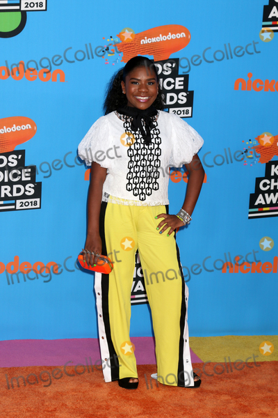Trinitee Stokes Photo - LOS ANGELES - MAR 24  Trinitee Stokes at the 2018 Kids Choice Awards at Forum on March 24 2018 in Inglewood CA