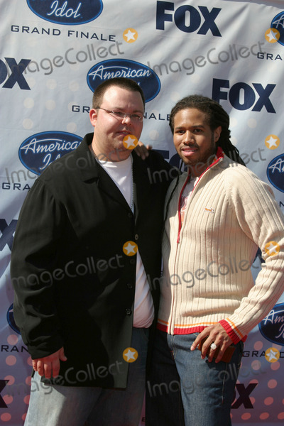Anwar Robinson Photo - Scott Saval  Anwar RobinsonAmerican Idol Finale  Season 6Kodak TheaterLos Angeles CAMay 23 2007