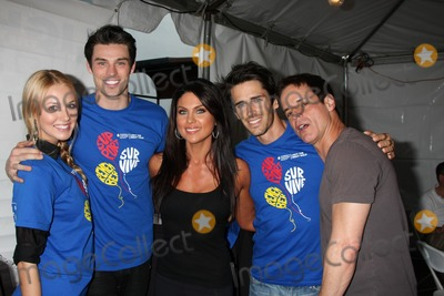 Adam Gregory Photo - LOS ANGELES - OCT 1  Adam Gregory  Wife Nadia Bjorlin Brandon Beemer Christian LeBlanc arriving at the Light The Night Hollywood Walk 2011 at the Sunset Gower Studios on October 1 2011 in Los Angeles CA