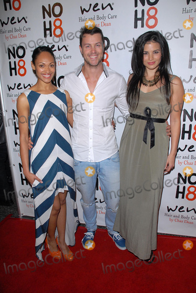 Lesley-Ann Brandt Photo - LOS ANGELES - DEC 12  Lesley-Ann Brandt Daniel Feuerriegel Katrina Law arrives to the NOH8 4th Anniversary Party at Avalon on December 12 2012 in Los Angeles CA