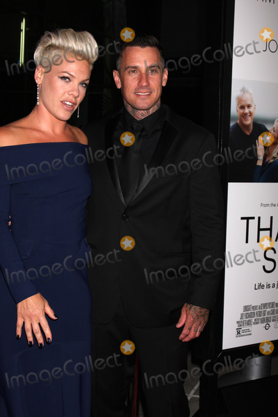 Alecia Moore Photo - LOS ANGELES - SEP 16  Alecia Moore aka Pink Carey Hart at the Thanks for Sharing Premiere  at ArcLight Hollywood Theaters on September 16 2013 in Los Angeles CA