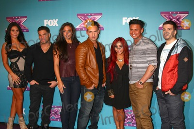Mike The Situation Sorrentino Photo - LOS ANGELES - DEC 19  Jenni Farley Ronnie Ortiz-Magro Sammi Sweetheart Giancola Mike The Situation Sorrentino Nicole Snooki Polizzi Paul Pauly D DelVecchio Vinny Guadagnino at the X Factor Season Finale performances  show taping at CBS Television City on December 19 2012 in Los Angeles CA