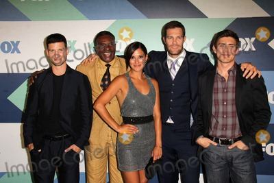 Angelique Cabral Photo - SLOS ANGELES - AUG 1  Parker Young Keith David Angelique Cabral Geoff Stults Chris Lowell arrives at the Fox All-Star Summer 2013 TCA Party at the SoHo House on August 1 2013 in West Hollywood CA