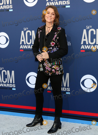 Brandi Carlile Photo - LAS VEGAS - APR 7  Brandi Carlile at the 54th Academy of Country Music Awards at the MGM Grand Garden Arena on April 7 2019 in Las Vegas NV