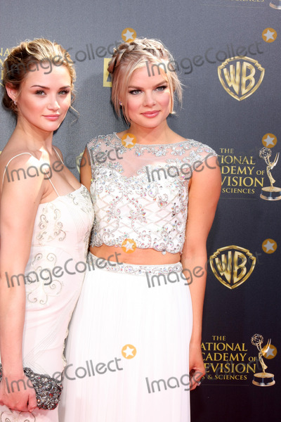 Kelli Goss Photo - LOS ANGELES - APR 26  Hunter King Kelli Goss at the 2015 Daytime Emmy Awards at the Warner Brothers Studio Lot on April 26 2015 in Burbank CA