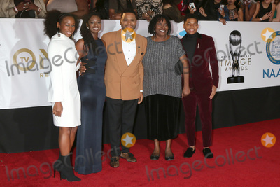 Anthony Anderson Photo - LOS ANGELES - JAN 15  Anthony Anderson family at the 49th NAACP Image Awards - Arrivals at Pasadena Civic Center on January 15 2018 in Pasadena CA