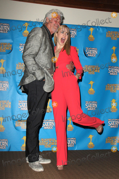 Amanda Schull Photo - LOS ANGELES - JUN 25  Barry Bostwick Amanda Schull at the 41st Annual Saturn Awards Press Room at the The Castaways on June 25 2015 in Burbank CA