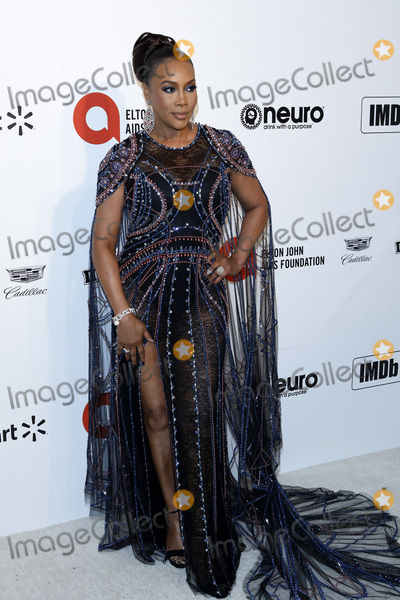 Vivica A Fox Photo - LOS ANGELES - FEB 9  Vivica A Fox at the 28th Elton John Aids Foundation Viewing Party at the West Hollywood Park on February 9 2020 in West Hollywood CA