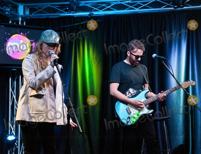 Jules De Martino Photo - BALA CYNWYD PA USA - APRIL 10 (L to R) Katie White and Jules De Martino of British Indie Rock Duo The Ting Tings Perform at Mix 106s Performance Theatre on April 10 2015 in Bala Cynwyd Pennsylvania United States (Photo by Paul J FroggattFamousPix)