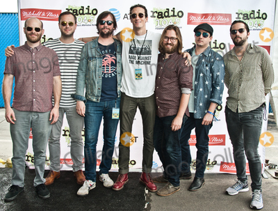 The Revivalists Photo - PHILADELPHIA PA USA - JUNE 18 Alternative Rock Band The Revivalists Pose at Radio 1045s Summer Block Party at Festival Pier on June 18 2017 in Philadelphia Pennsylvania United States (Photo by Paul J FroggattFamousPix)