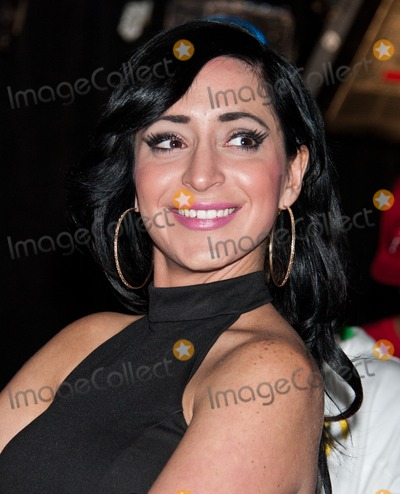 Angelina Pivarnick Photo - WOODLYN PA - APRIL 24 Angelina Pivarnick Attends The World Xtreme Entertainment Celebrity Boxing Match Press Conference at The Venue on April 24 2014 in Woodlyn Pennsylvania (Photo by Paul J FroggattFamousPix)