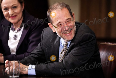 Javier Solana Photo - Washington DC - November 3 2009 -- European Council High Representative Javier Solana reacts during the US-European Union Summit in the Cabinet Room at the White HousePhoto by Olivier DoulieryPool-CNP-PHOTOlinknet