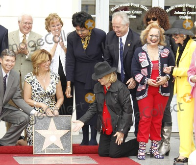 Johnny Grant Photo - Hollywood CA 5-10-2010Angie Dickinson (in hat Kneeling on right)Johnny Grant Post Office Dedication Hollywood Post OfficePhoto by Nick Sherwood-PHOTOlinknet