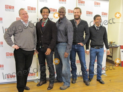 Andre Holland Photo - New York NY 12172010Director Doug Hughes Andre Holland Andre Braugher Jay Wilkison and playright Mario LopezMeet  Greet for the new off-broadway playThe Whipping ManDigital photo by Adam Scull-PHOTOlinknet