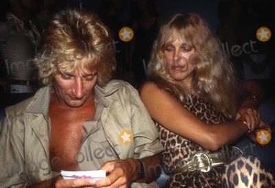 Alana Hamilton Photo - Rod Stewart1292JPG1978 FILE PHOTONew York NYRod Stewart Alana HamiltonPhoto by Adam Scull-PHOTOlinknet