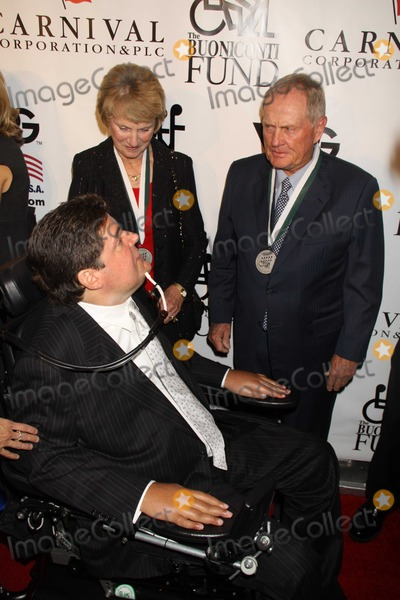 Jack Nicklaus Photo - New York NY 9-28-10Jack Nicklaus and wife Babara  Marc Buonicontiat 25th Great Sports Legends dinner to benefitthe Buoniconti fund at Waldorf Astoria HotelPhoto By Maggie Wilson-PHOTOlinknet