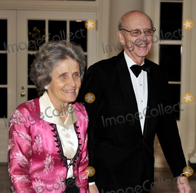 Stephen Breyer Photo - State Dinner Honoring President Hu Jintao of ChinaRESTRICTED NEW YORKNEW JERSEY OUTNO NEW YORK OR NEW JERSEY NEWSPAPERS WITHIN A 75 MILE RADIUS OF NYCAssociate Justice of the United States Supreme Court Stephen Breyer and Dr Johanna Breyer arrive for the State Dinner in honor of President Hu Jintao of China at the White House In Washington DC on Wednesday January 19 2011 Photo by Ron SachsCNP-PHOTOlinknet