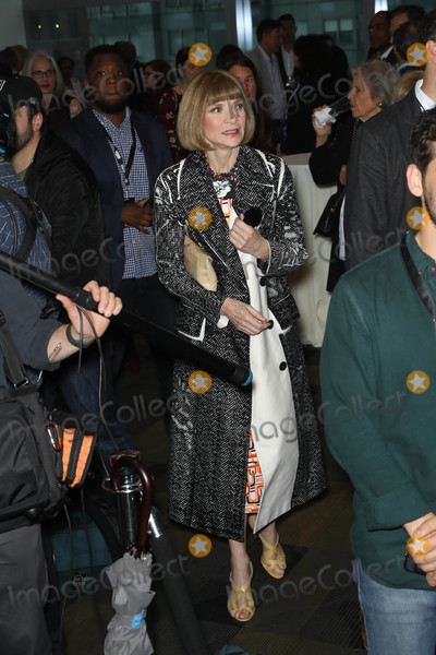 Anna Wintour Photo - Photo by John NacionstarmaxinccomSTAR MAX2018ALL RIGHTS RESERVEDTelephoneFax (212) 995-119642518Anna Wintour at the premiere of HBOs Being Serena at the Time Warner Center in New York City