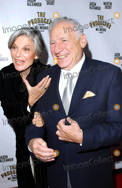 Anne Bancroft Photo - Photo by Lee RothSTAR MAX Inc - copyright 200352903Mel Brooks with wife Ann Bancroft at the opening night of The Producers(Hollywood CA)