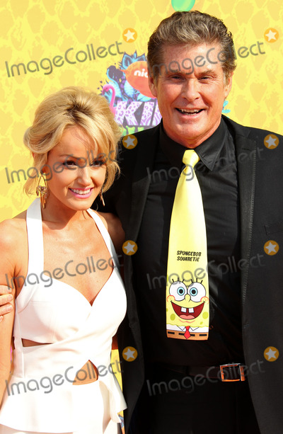 Hayley Roberts Photo - Photo by REWestcomstarmaxinccomSTAR MAX2014ALL RIGHTS RESERVEDTelephoneFax (212) 995-119632914David Hasselhoff and Hayley Roberts at Nickelodeons 27th Annual Kids Choice Awards(Los Angeles CA)