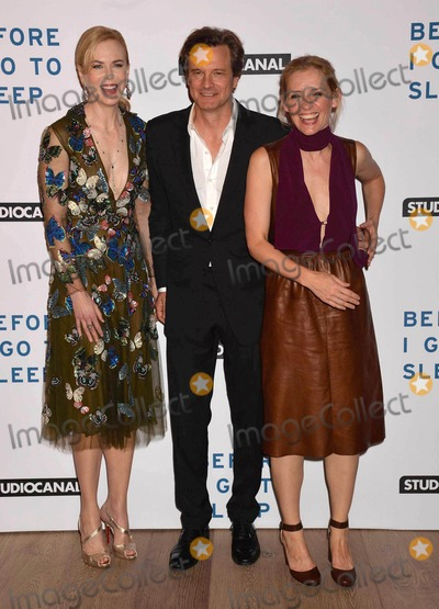Anne Marie Duff Photo - Photo by KGC-42starmaxinccomSTAR MAX2014ALL RIGHTS RESERVEDTelephoneFax (212) 995-11969414Nicole Kidman Colin Firth and Anne-Marie Duff at a screening of Before I Go To Sleep(London England)