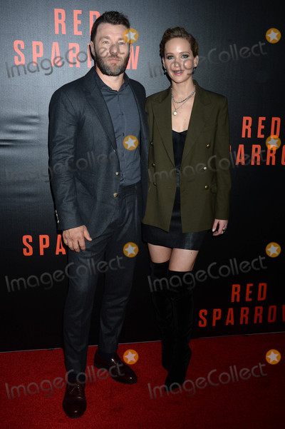 Jennifer Lawrence Photo - Photo by Dennis Van TinestarmaxinccomSTAR MAX2018ALL RIGHTS RESERVEDTelephoneFax (212) 995-119621518Joel Edgerton and Jennifer Lawrence at a screening of Red Sparrow in Washington DC