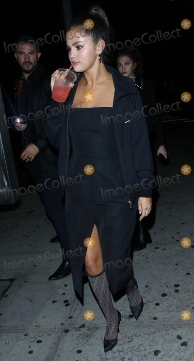 Selena Gomez Photo - Photo by gotpapstarmaxinccomSTAR MAXCopyright 2018ALL RIGHTS RESERVEDTelephoneFax (212) 995-11969818Selena Gomez is seen outside La Esquina Restaurant in New York City(NYC)