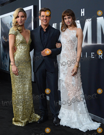 Annabelle Wallis Photo - Photo by Patricia SchleinstarmaxinccomSTAR MAX2017ALL RIGHTS RESERVEDTelephoneFax (212) 995-11966617Annabelle Wallis Tom Cruise and Sofia Boutella at The Mummy New York Fan Event in New York City