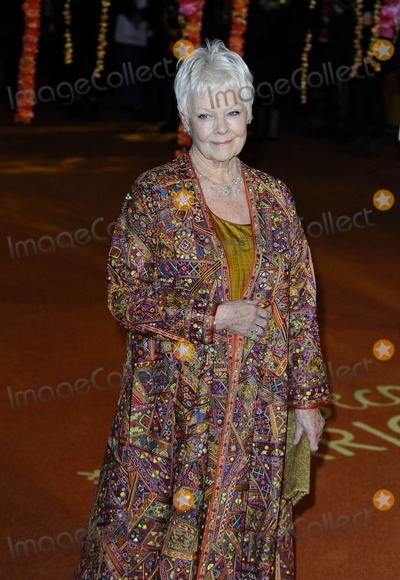 Judi Dench Photo - Photo by KGC-138starmaxinccomSTAR MAX2015ALL RIGHTS RESERVEDTelephoneFax (212) 995-119621715Dame Judi Dench at the Royal Film Performance world premiere of The Second Best Exotic Marigold Hotel(London England UK)