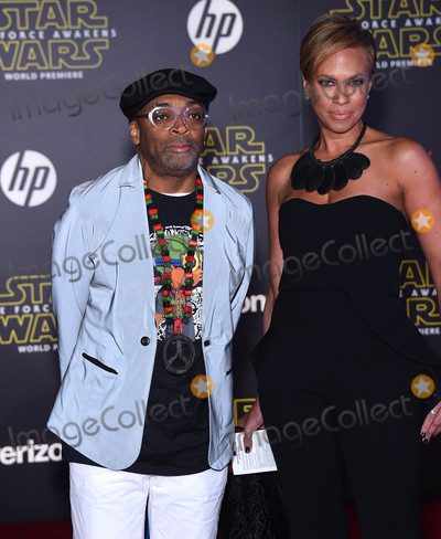 Tonya Lewis Lee Photo - Photo by KGC-11starmaxinccomSTAR MAXCopyright 2015ALL RIGHTS RESERVEDTelephoneFax (212) 995-1196121415Spike Lee and Tonya Lewis Lee at the world premiere of Star Wars The Force Awakens(Los Angeles CA)