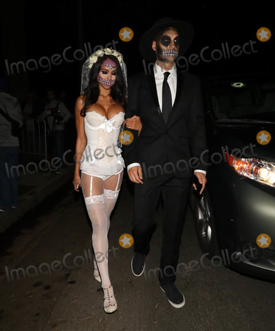 Cara Santana Photo - Photo by gotpapstarmaxinccomSTAR MAX2018ALL RIGHTS RESERVEDTelephoneFax (212) 995-1196102618Cara Santana and Jesse Metcalfe are seen at the Casamigos Halloween Party in Beverly Hills CA
