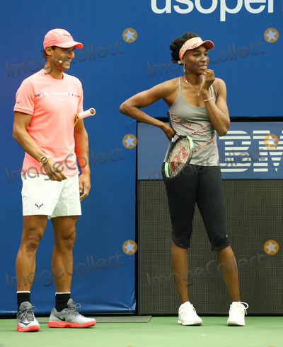 Arthur Ash Photo - Photo by John NacionstarmaxinccomSTAR MAX2017ALL RIGHTS RESERVEDTelephoneFax (212) 995-119682617Rafael Nadal and Venus WIlliams at Arthur Ashe Kids in Queens New York