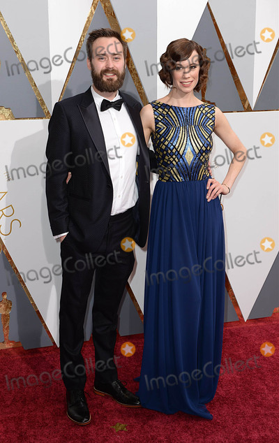 Benjamin Cleary Photo - Photo by PDstarmaxinccomSTAR MAX2016ALL RIGHTS RESERVEDTelephoneFax (212) 995-119622816Benjamin Cleary and Chloe Pirrie at the 88th Annual Academy Awards (Oscars) in Hollywood CA(Los Angeles USA)