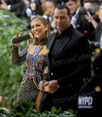 Alex Rodriguez Photo - Photo by Dennis Van TinestarmaxinccomSTAR MAX2018ALL RIGHTS RESERVEDTelephoneFax (212) 995-11965718Jennifer Lopez and Alex Rodriguez at the 2018 Costume Institute Benefit Gala celebrating the opening of Heavenly Bodies Fashion and the Catholic Imagination(The Metropolitan Museum of Art NYC)