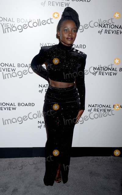 Lupita Nyongo Photo - Photo by Dennis Van TinestarmaxinccomSTAR MAX2018ALL RIGHTS RESERVEDTelephoneFax (212) 995-11961918Lupita Nyongo at The National Board of Review Annual Awards Gala (NBR) in New York City