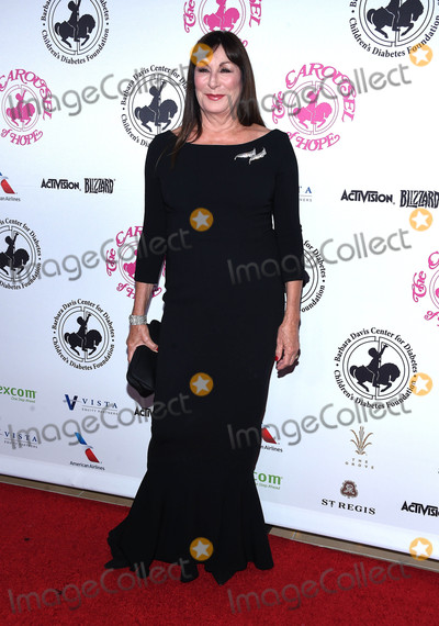 Anjelica Huston Photo - Photo by KGC-11starmaxinccomSTAR MAX2016ALL RIGHTS RESERVEDTelephoneFax (212) 995-119610816Anjelica Huston at The 2016 Carousel of Hope Ball(Los Angeles CA)