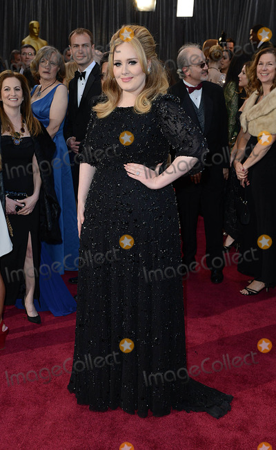 Adele Adkins Photo - Adele Adkins arriving for the 85th Academy Awards at the Dolby Theatre Los Angeles