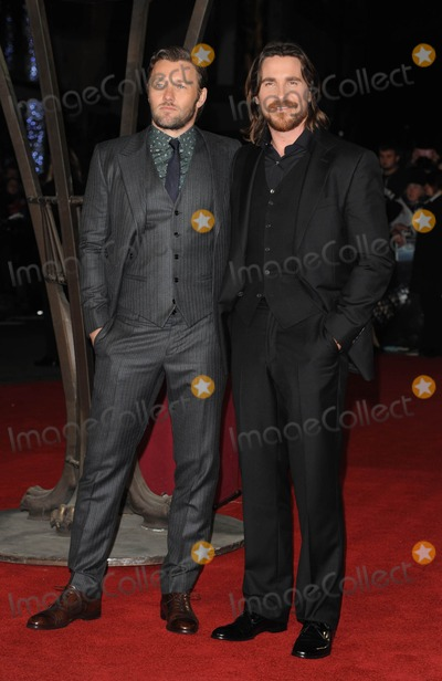 Joel Edgerton Photo - Photo by KGC-03starmaxinccomSTAR MAX2014ALL RIGHTS RESERVEDTelephoneFax (212) 995-119612314Joel Edgerton and Christian Bale at the premiere of Exodus Gods and Kings(London England UK)