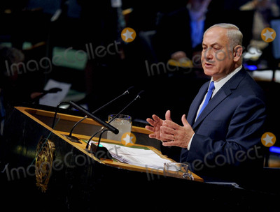 Benjamin Netanyahu Photo - Photo by Dennis Van TinestarmaxinccomSTAR MAX2017ALL RIGHTS RESERVEDTelephoneFax (212) 995-119691917Benjamin Netanyahu speaks at the 72nd session of the United Nations General Assembly in New York City