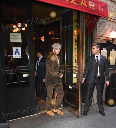 Brooklyn Beckham Photo - Photo by KGC-195starmaxinccomSTAR MAX2016ALL RIGHTS RESERVEDTelephoneFax (212) 995-119691116The Beckhams (David Beckham Victoria Beckham and Brooklyn Beckham) go to Balthazaar Restaurant in New York City