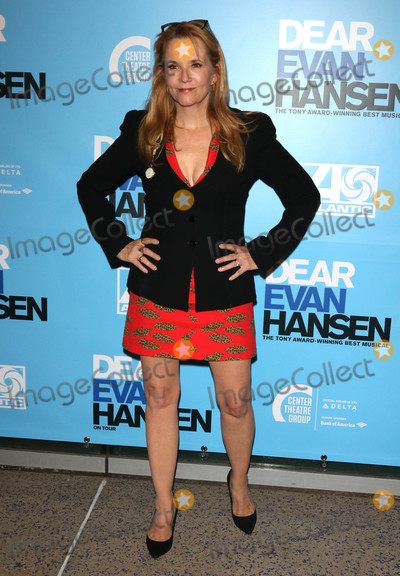 Lea Thompson Photo - Photo by gotpapstarmaxinccomSTAR MAX2018ALL RIGHTS RESERVEDTelephoneFax (212) 995-1196101918Lea Thompson at the opening night performance of Dear Evan Hansen in Los Angeles CA
