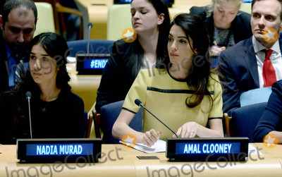 Amal Clooney Photo - Photo by Dennis Van TinestarmaxinccomSTAR MAX2017ALL RIGHTS RESERVEDTelephoneFax (212) 995-11963917Amal Clooney is seen at The United Nations Headquarters in New York City