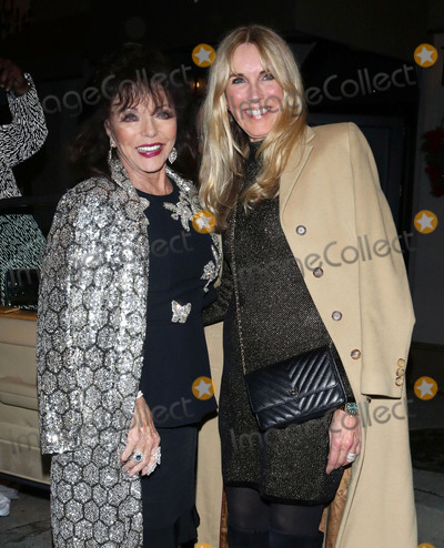 Alana Stewart Photo - Photo by zzOGUTstarmaxinccomSTAR MAXCopyright 2019ALL RIGHTS RESERVEDTelephoneFax (212) 995-1196122319Joan Collins and Alana Stewart are seen outside Craigs Restaurant on December 23 2019 in West Hollywood Los Angeles CA
