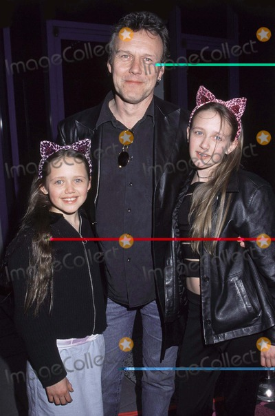 Anthony Stewart Head Photo - Photo By Russ Einhorn 4_9_01Copyright Star Max 2001_Josie and the Pussycats_PremiereThe Galaxy TheaterHollywood_CaliforniaAnthony Stewart Head from Buffy the Vampire Slayer with his two daughters as they arrive to see the Premiere