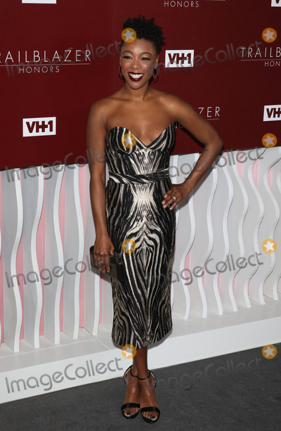 Samira Wiley Photo - Photo by zzgotpapstarmaxinccomSTAR MAXCopyright 2019ALL RIGHTS RESERVEDTelephoneFax (212) 995-119622019Samira Wiley at the VH1 Trailblazer Honors in Los Angeles CA